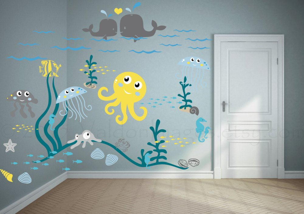 Kids Ocean Wall Decals