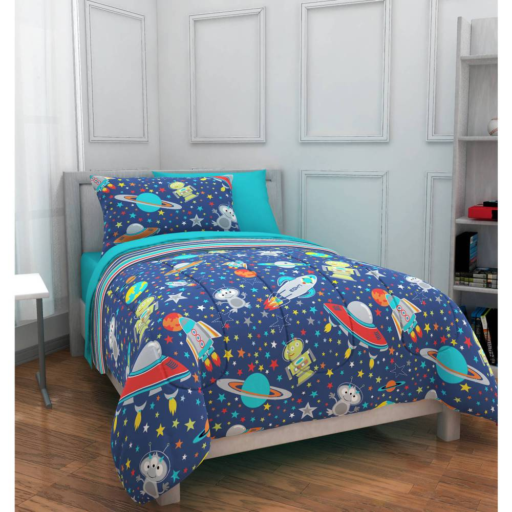 Kids Outer Space Bedding