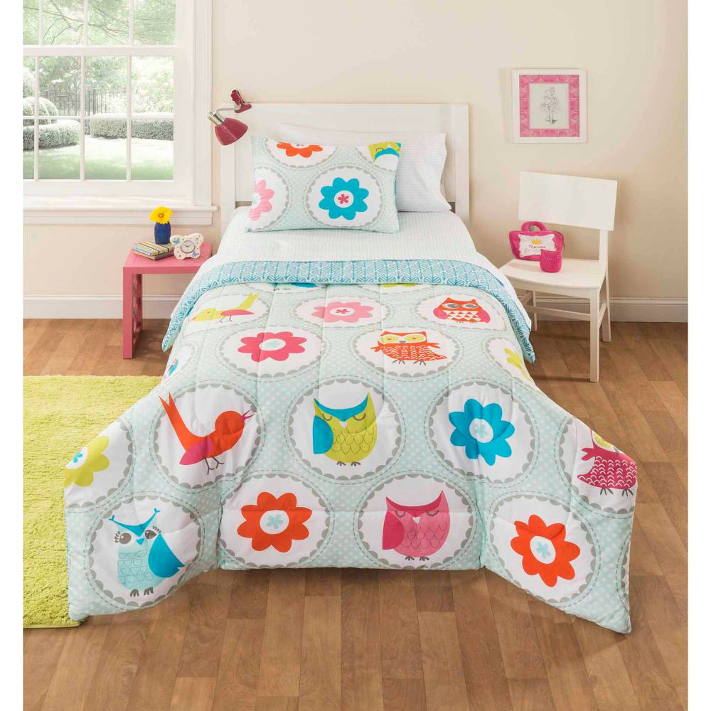 Kids Owl Bedding