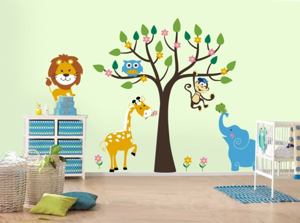 Kids Playroom Wall Decals