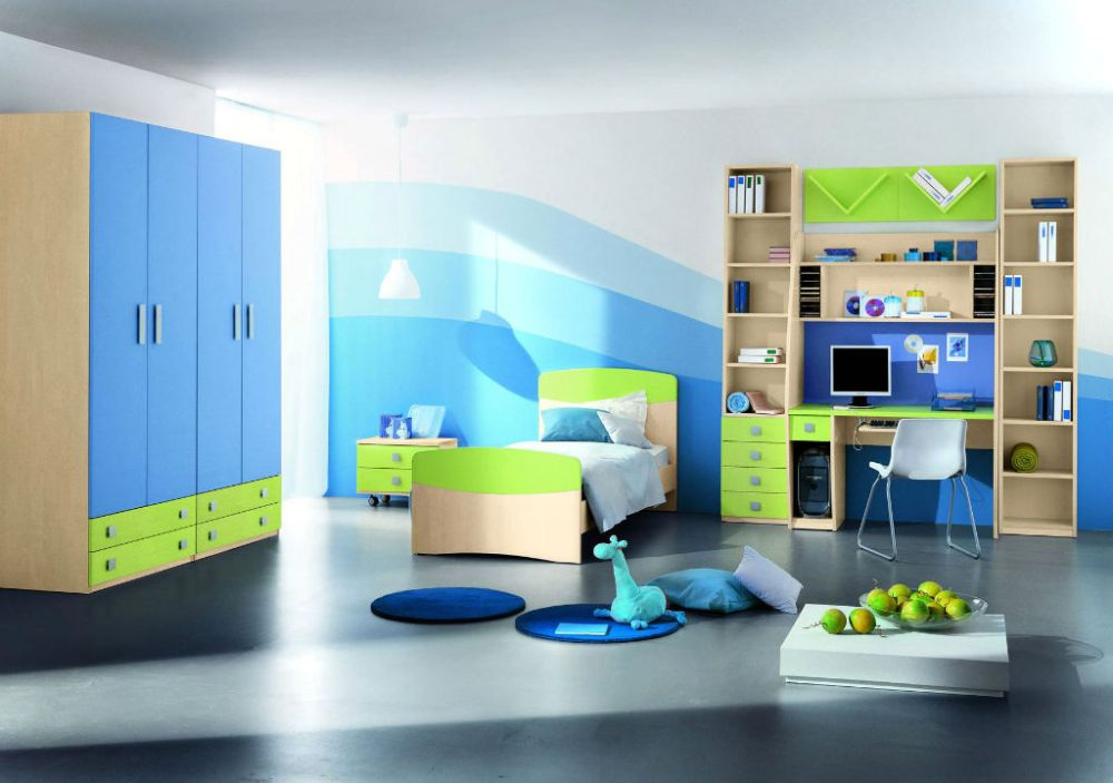 Kids Rooms Double Bed