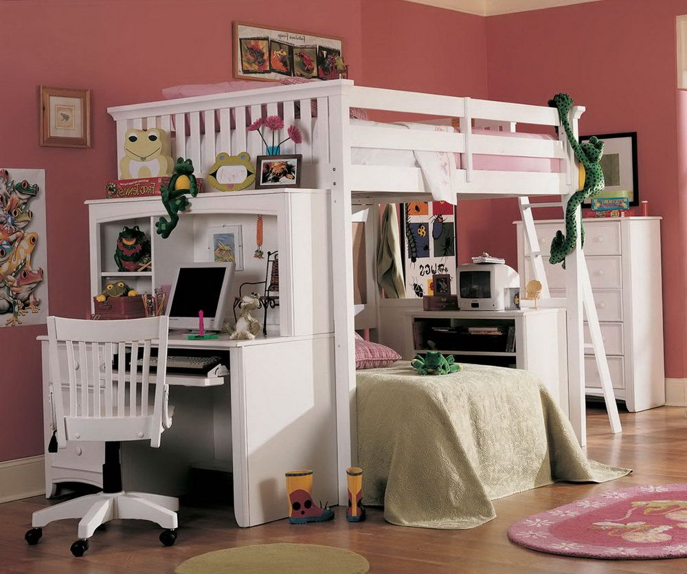 Kids Semi Truck Bunk Bed