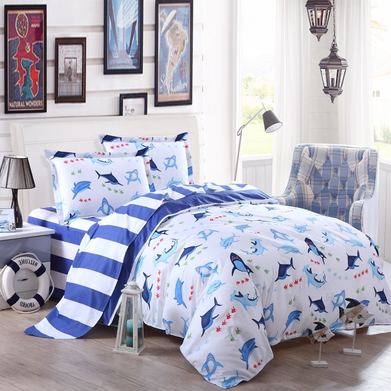 Kids Shark Bedding
