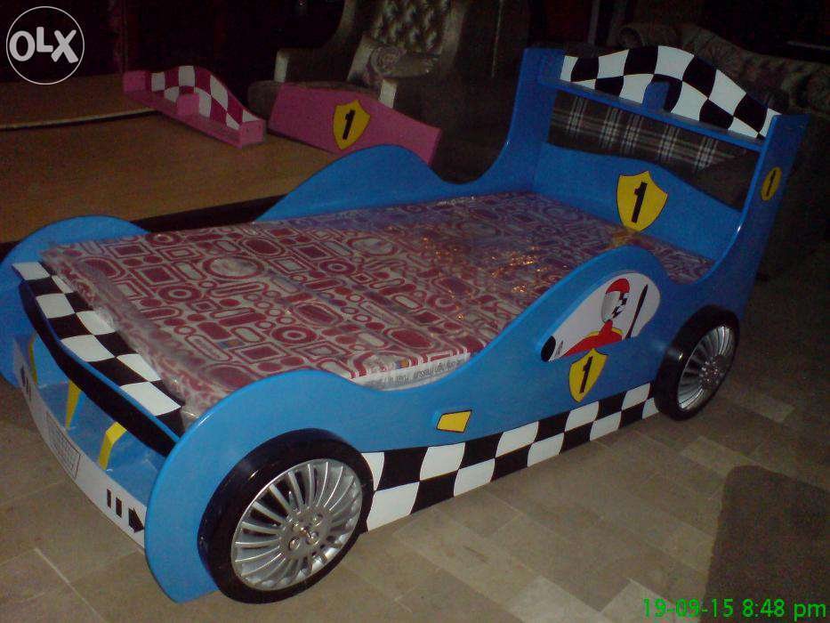 Kids Sports Car Bed