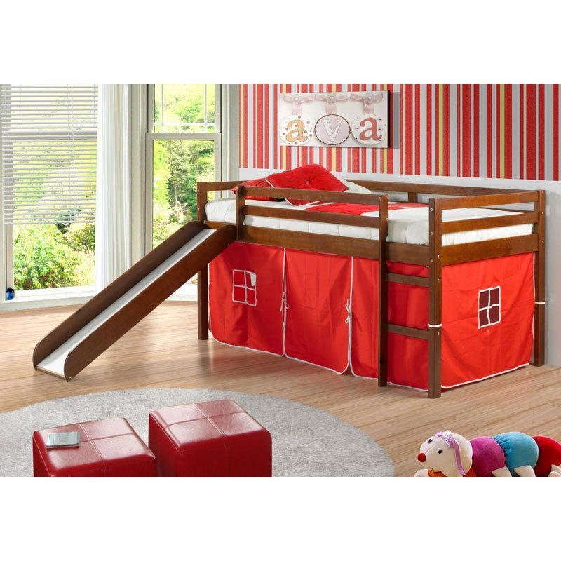 Kids Tent Bed With Slide