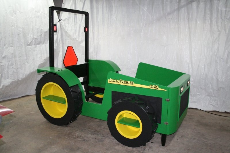 Kids Tractor Bed Plans