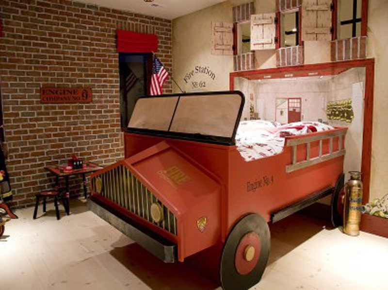 Kids Truck Bedroom