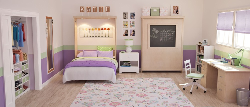 Kids Wall Bed