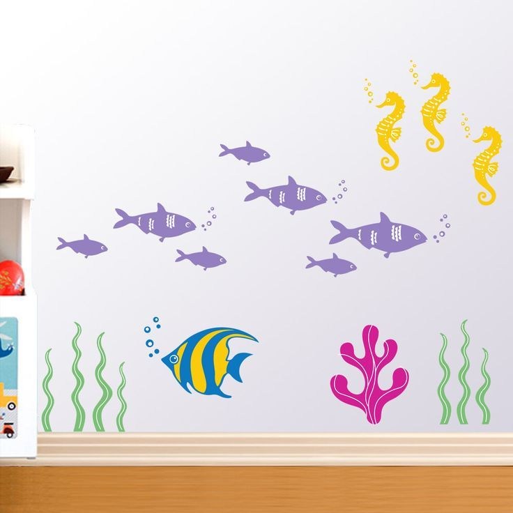 Kids Wall Decals Ocean