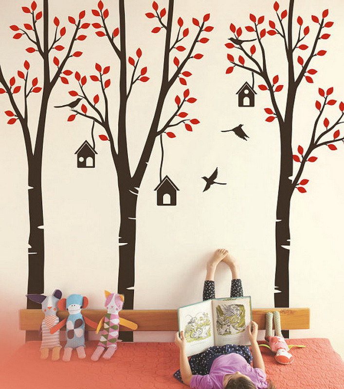 Kids Wall Decals Trees