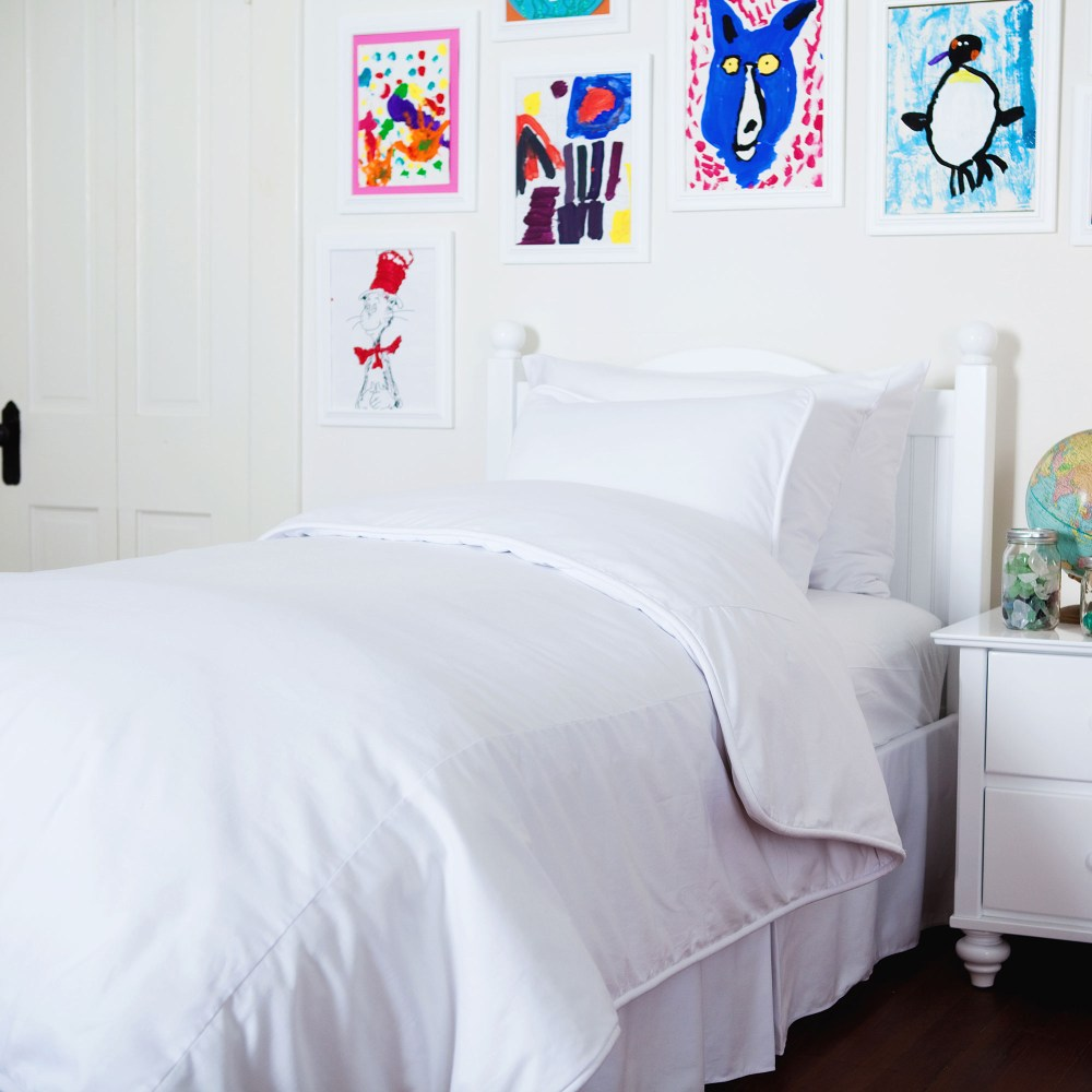 Kids White Bedding