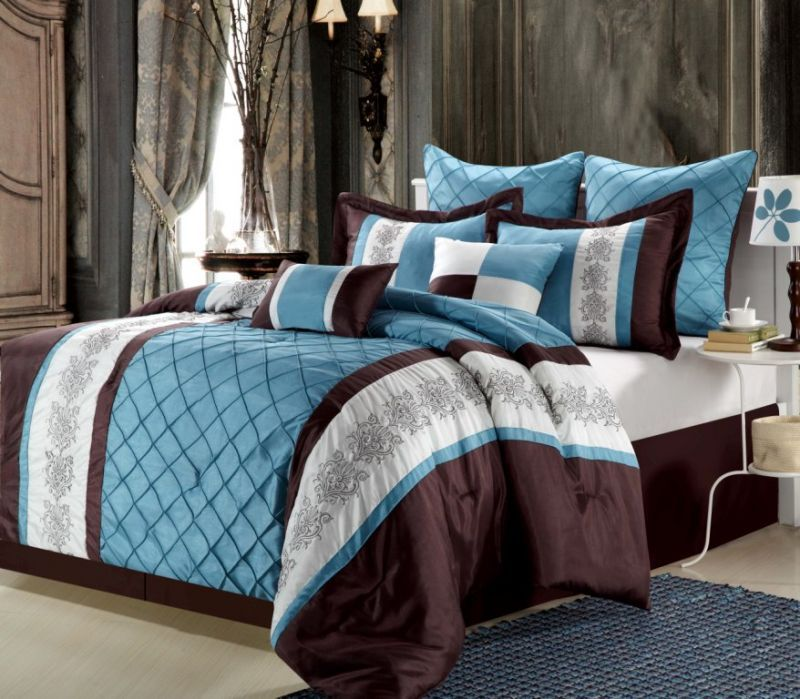 King Comforter Sets Blue