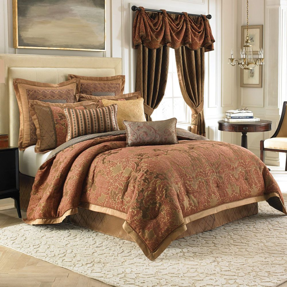 King Comforter Sets Brown