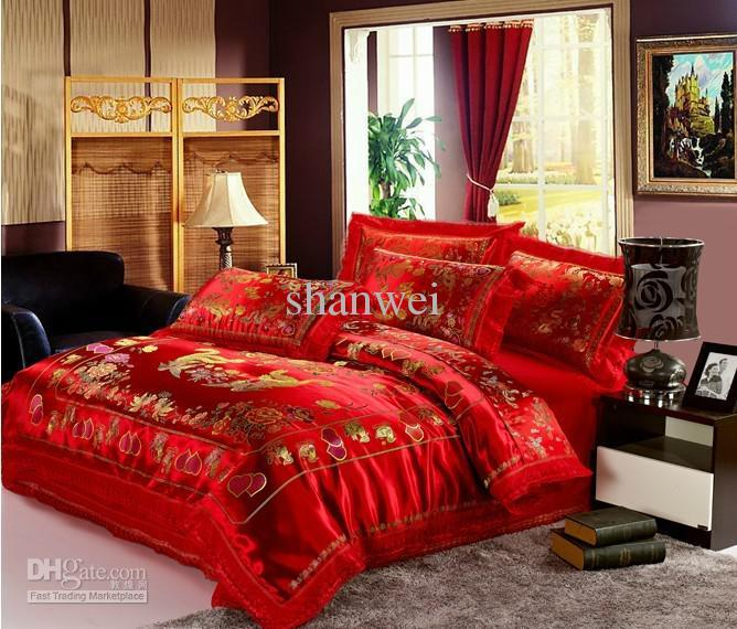 King Comforter Sets Red