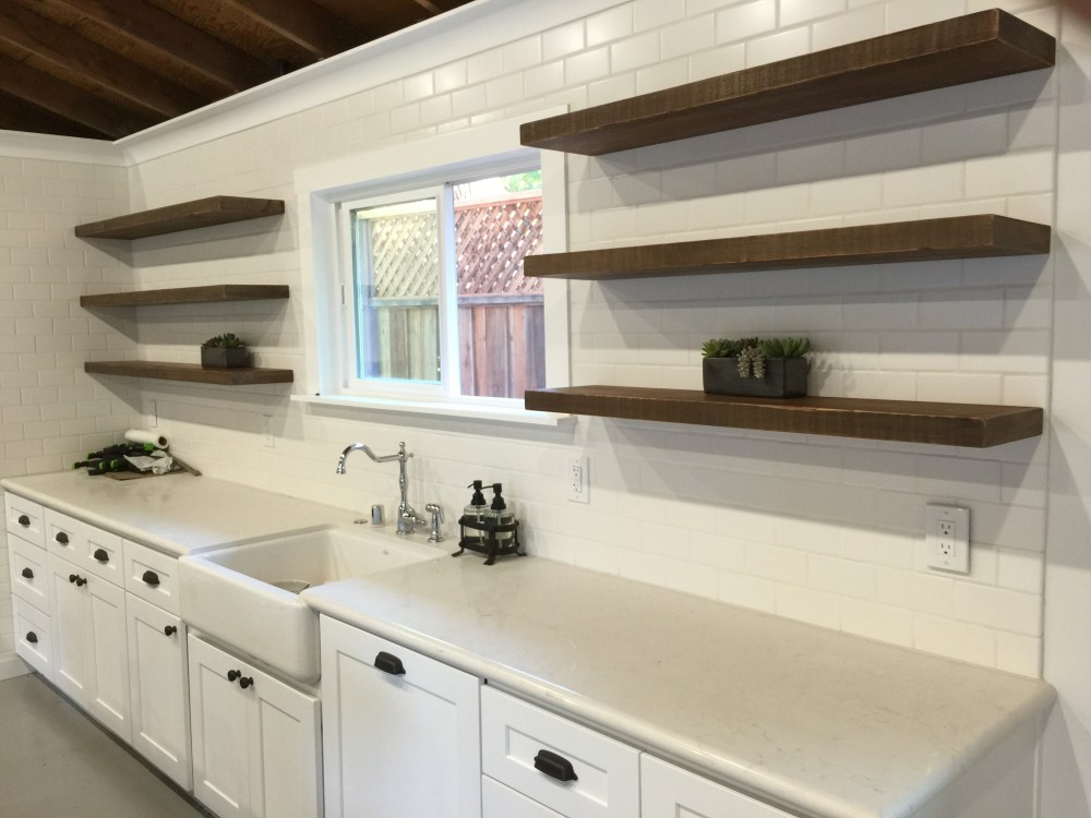 Kitchen Floating Shelves Ideas