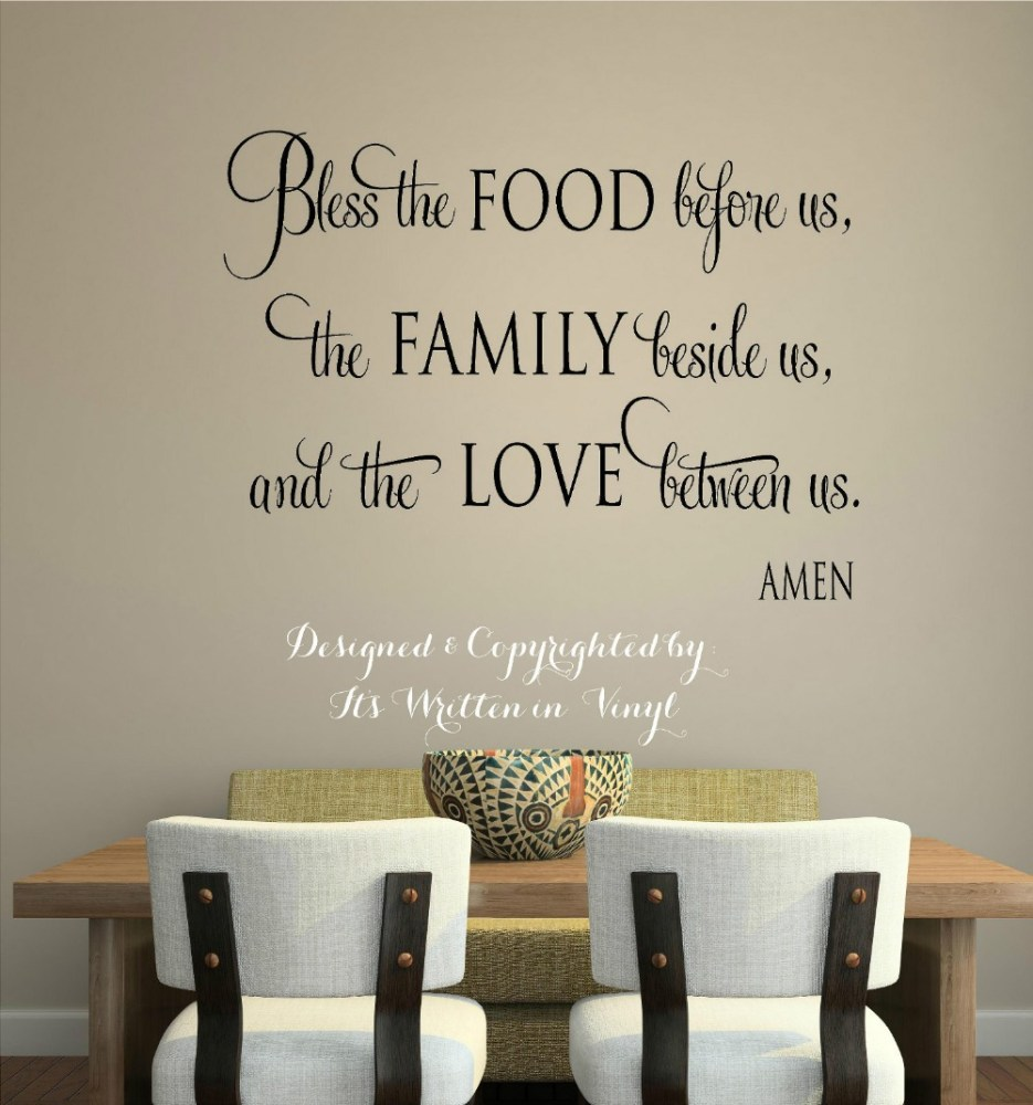 Kitchen Quote Wall Decals