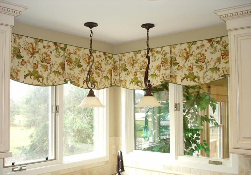 Kitchen Valances For Windows Contemporary