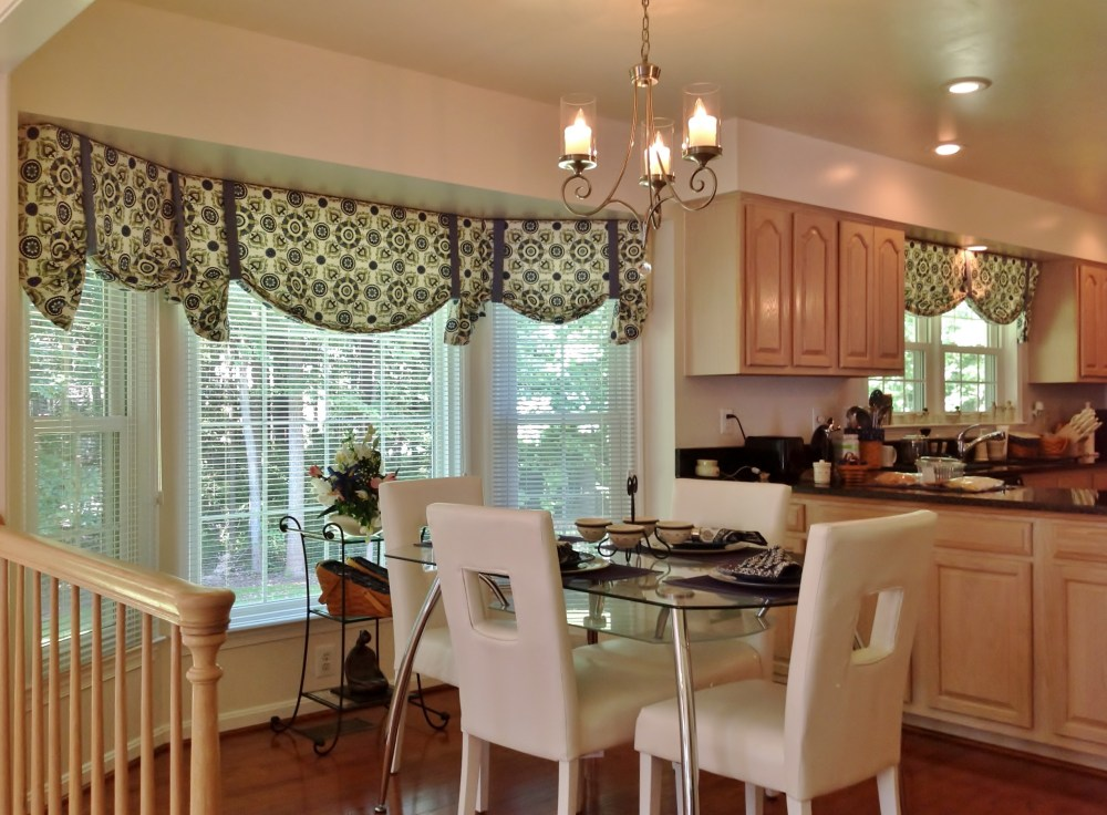 Kitchen Window Treatments Valances