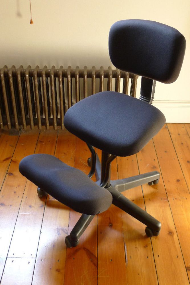 Kneeling Office Chair With Back Support