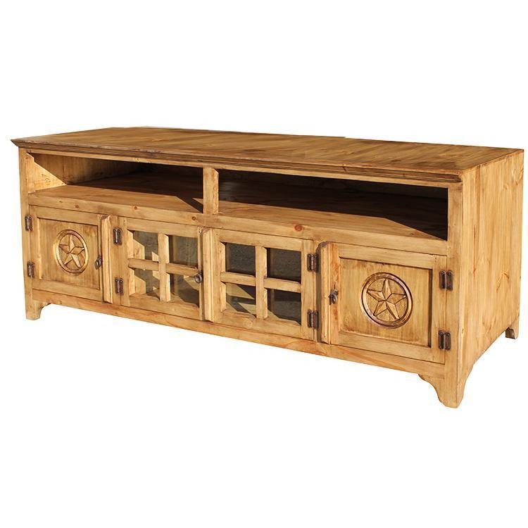 Knotty Pine Tv Stand