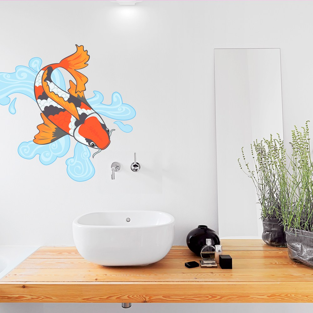 Koi Fish Wall Decal