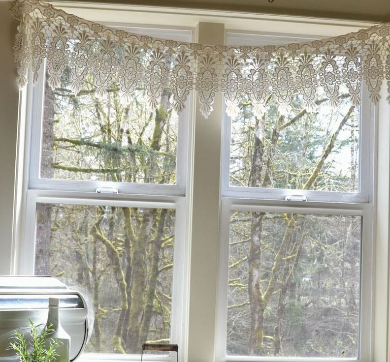 Lace Valances For Windows
