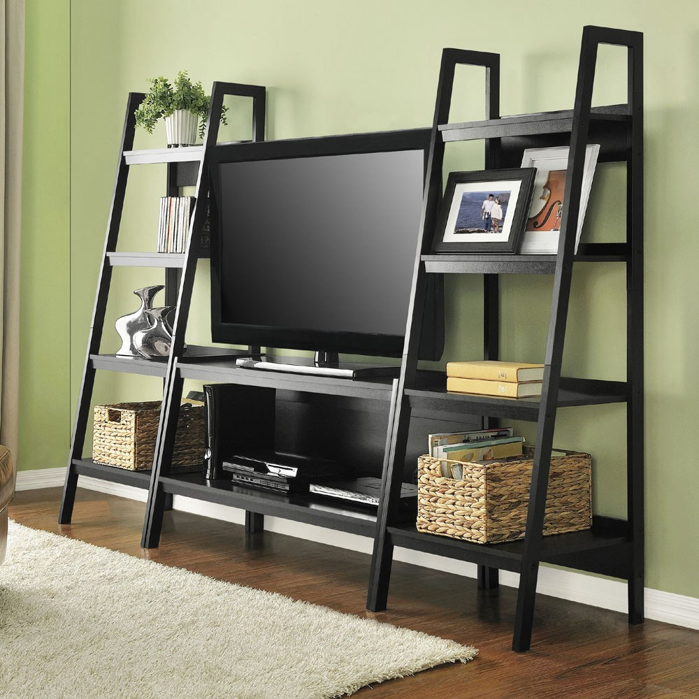 Ladder Shelf Tv Stand