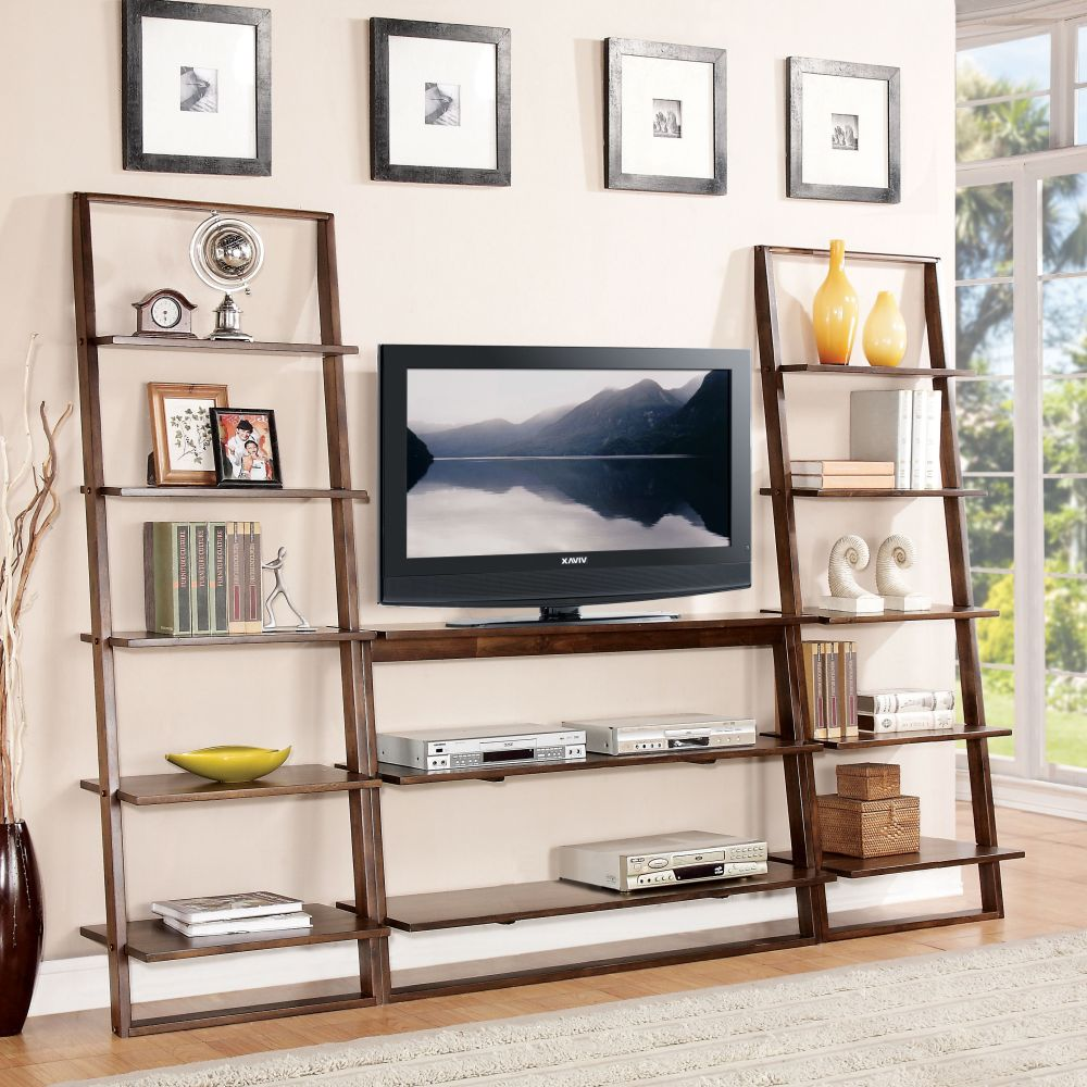 Ladder Tv Stand Shelves