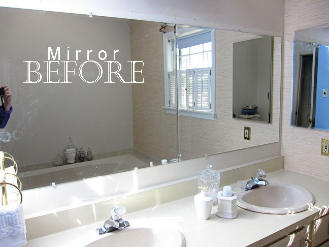 Large Beveled Bathroom Mirrors