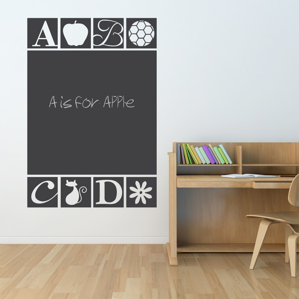 Large Chalkboard Wall Decal
