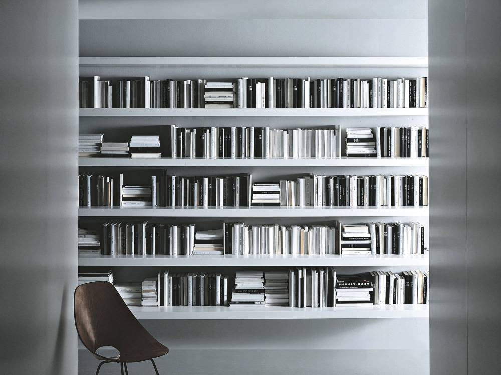 Large Floating Shelves White