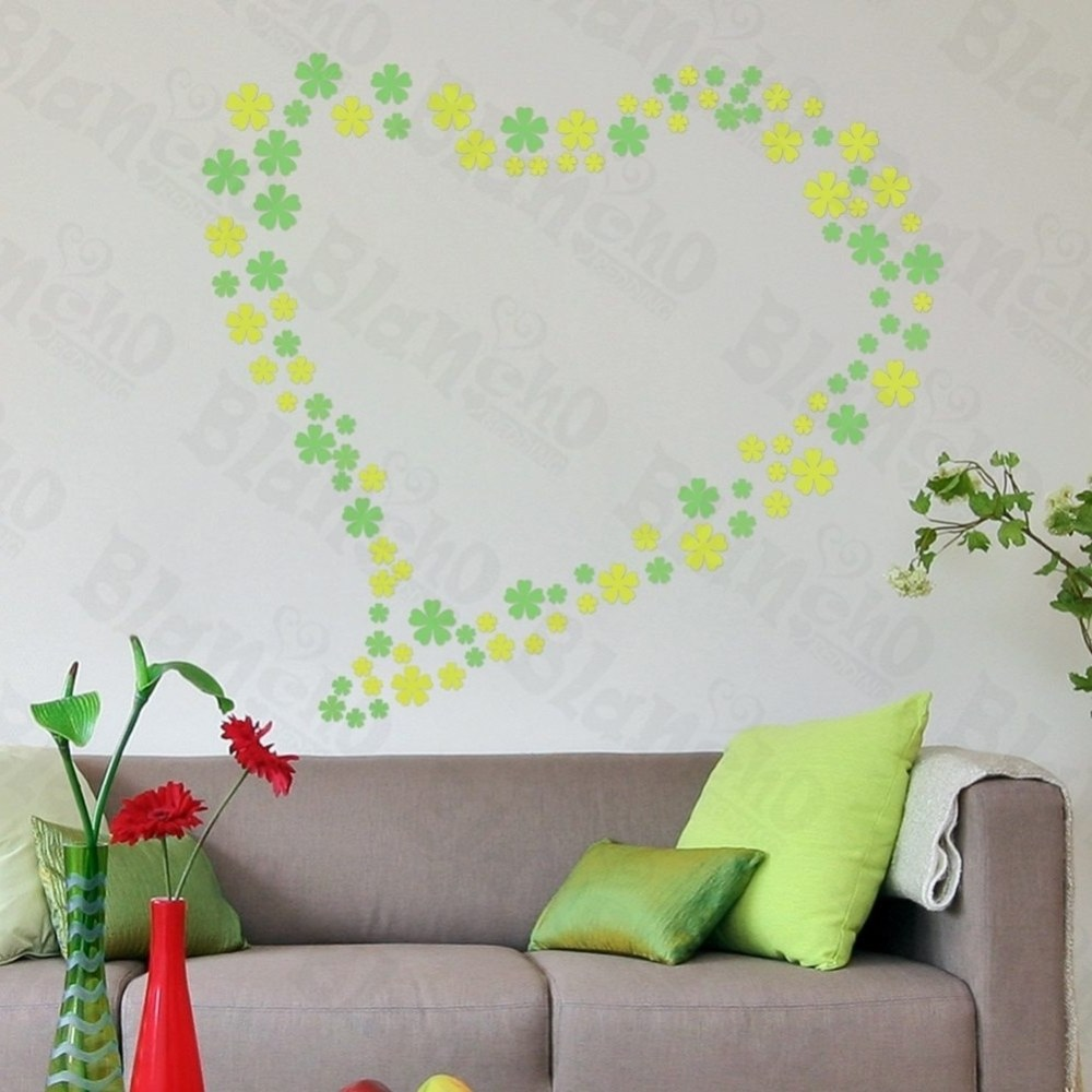 Large Floral Wall Decals