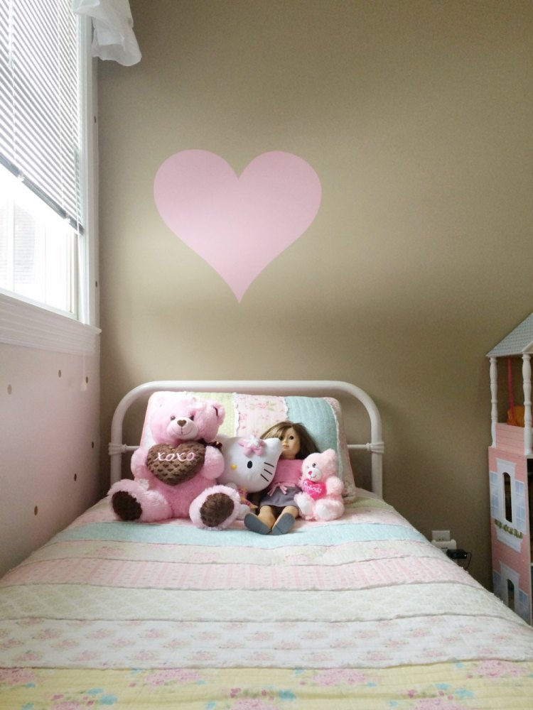 Large Heart Wall Decal