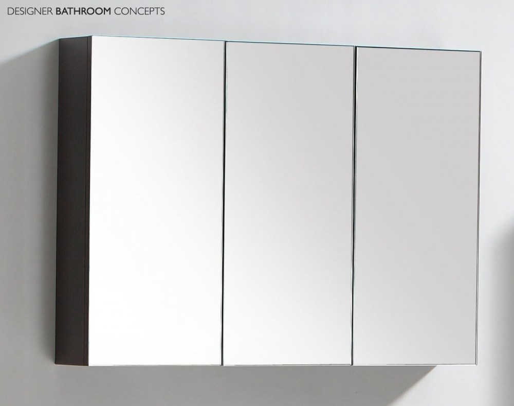 Large Mirrored Bathroom Cabinet