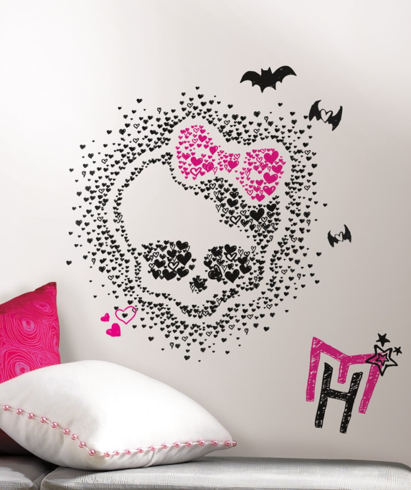 Large Monster High Wall Decals
