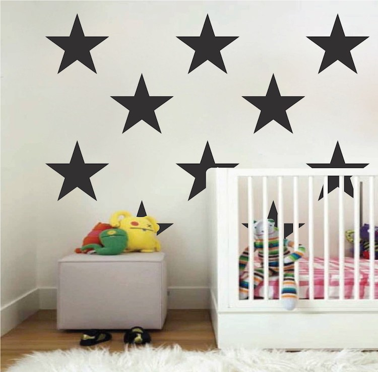 Large Star Wall Decals