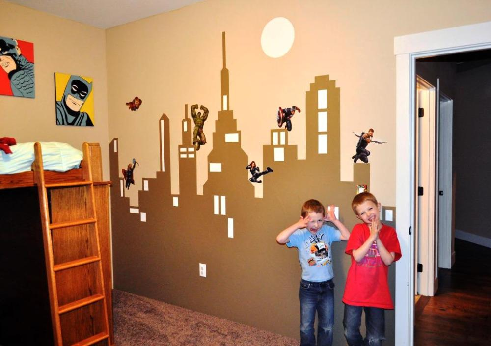 Large Superhero Wall Decals