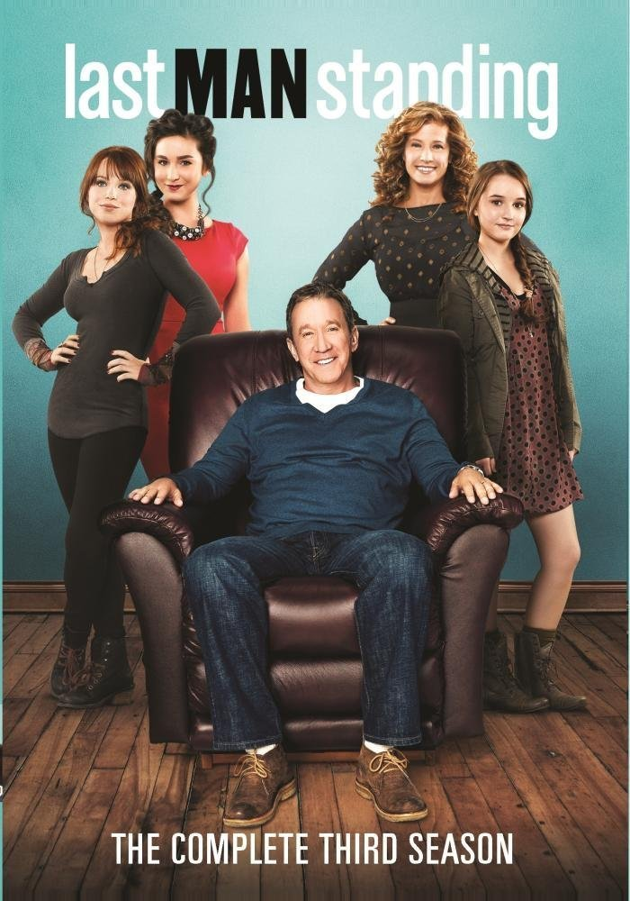 Last Man Standing Tv Series Dvd