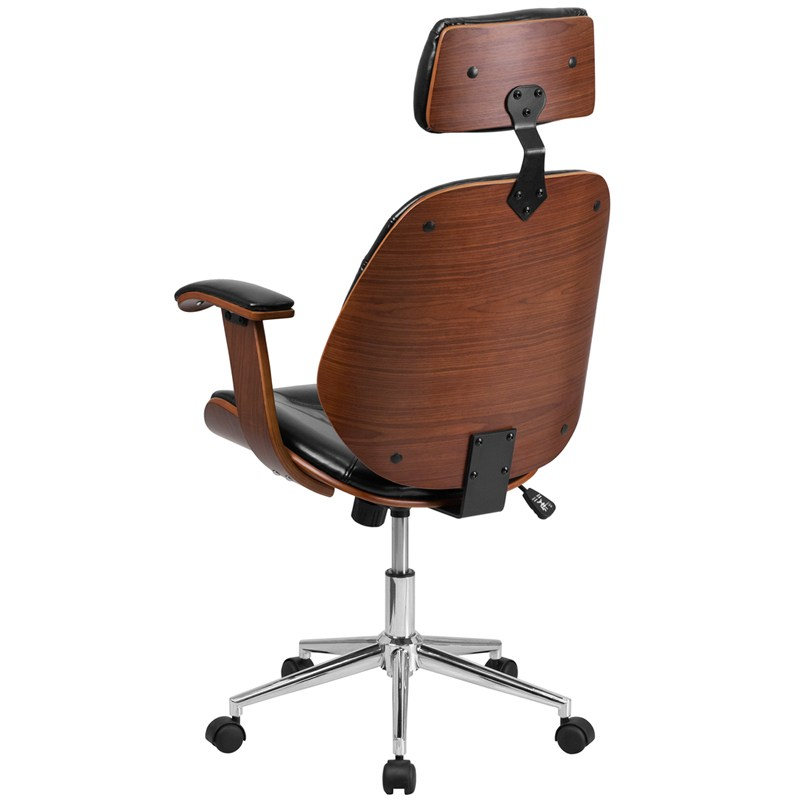 Leather Executive Office Chair High Back
