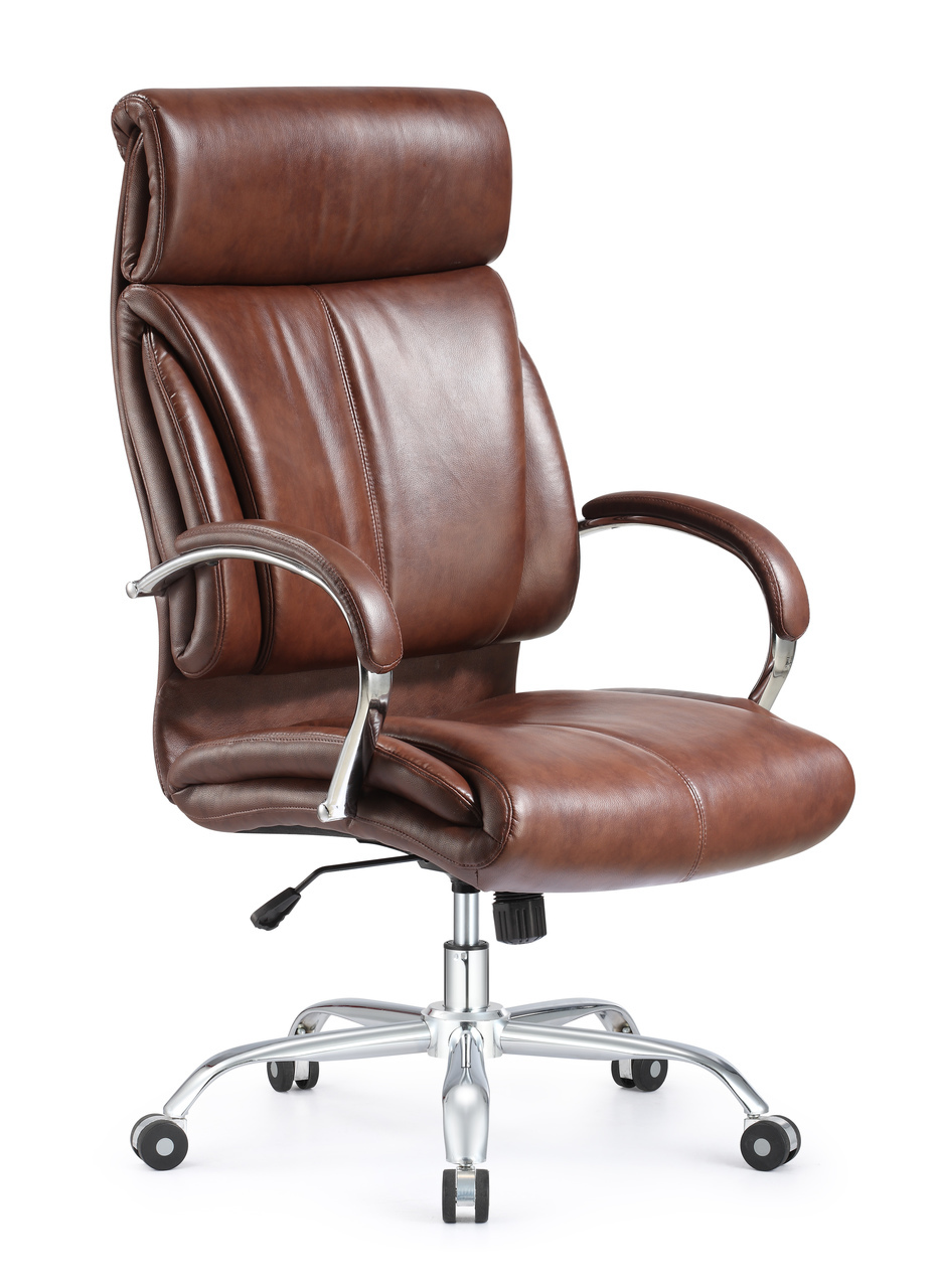 Leather Office Chair Brown