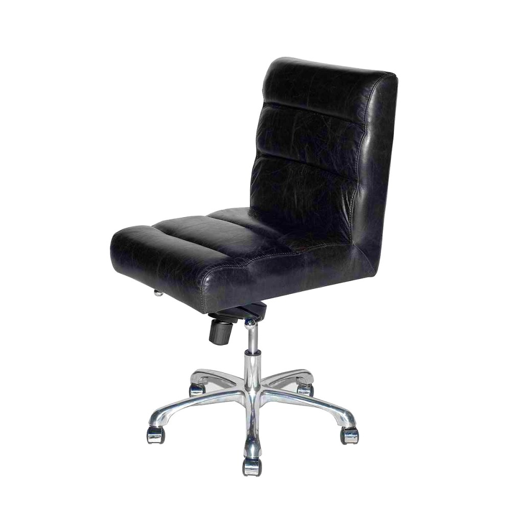 Leather Office Chair No Arms