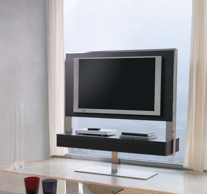 Leather Tv Stand