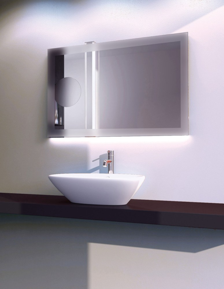 Led Backlit Bathroom Mirrors