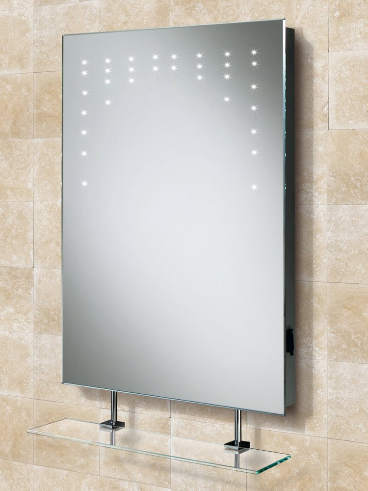 Led Bathroom Mirror With Shelf