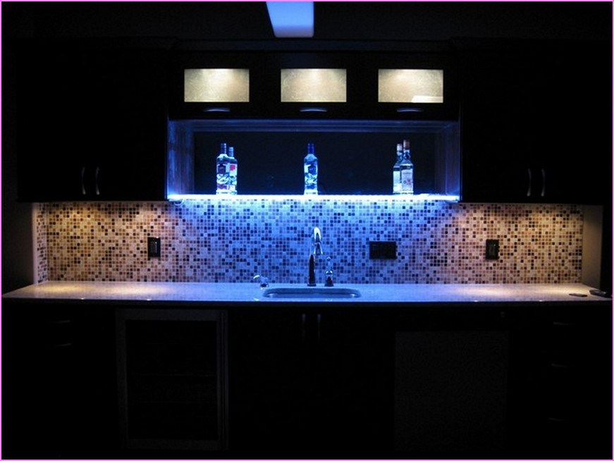 Led Floating Glass Shelves