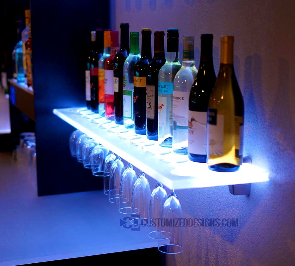 Led Floating Wall Shelves