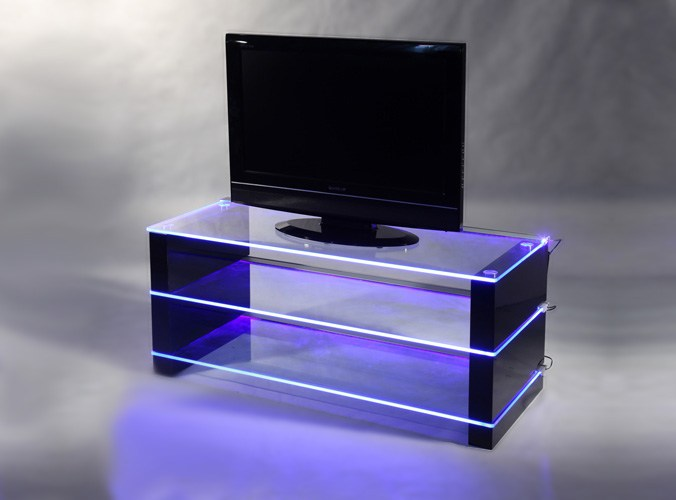 Led Tv Glass Stand