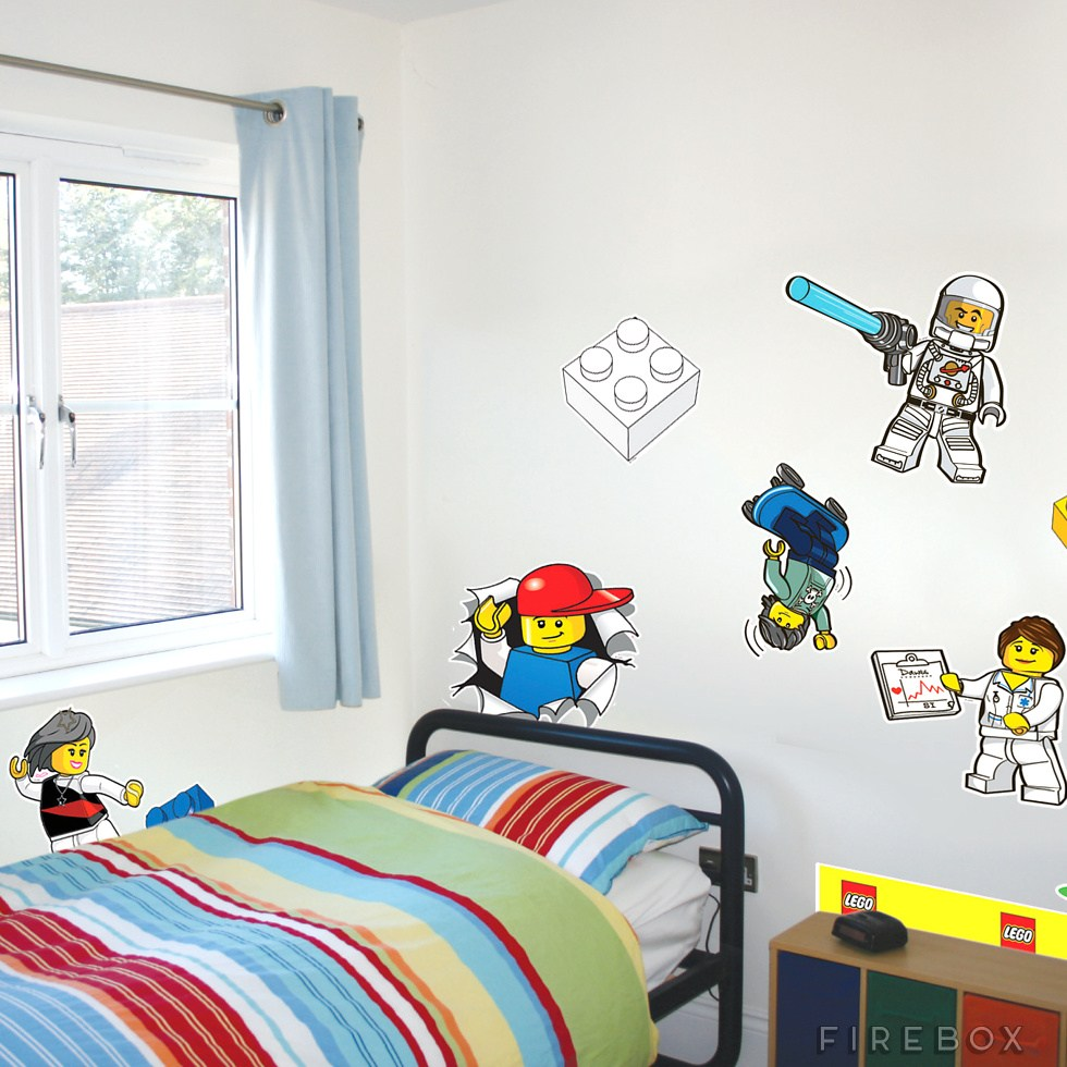 Lego City Wall Decals