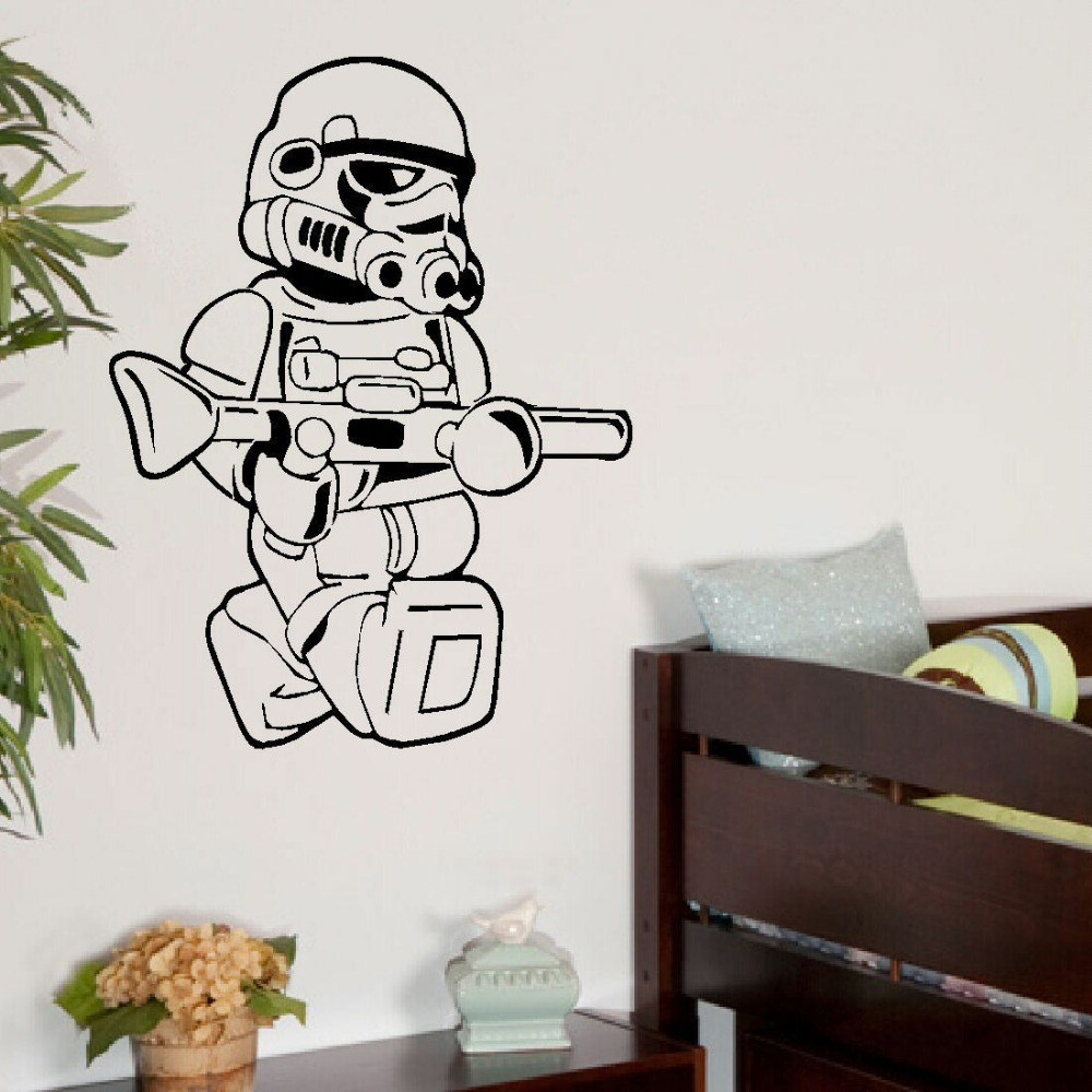 Lego Star Wars Wall Decals