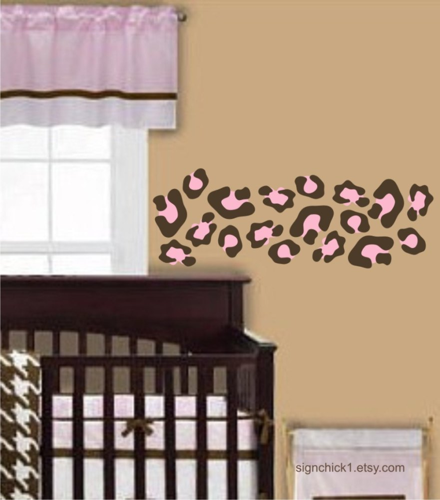 Leopard Print Wall Decals